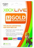 Xbox 360 Live 12-Month Gold Membership Subscription Card