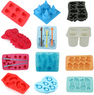 Silicone 3D Design Ice Cube Mold Tray