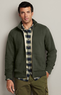 Men's Sherpa-Lined Fleece Mockneck Jacket