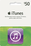 $50 itunes, App Store, & iBookstore Gift Cards For $45