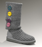 UGG Kids Cardy II Knit Button Boots