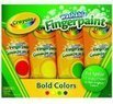 Crayola 4ct Washable Fingerpaints