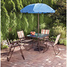 Mainstays Glenmeadow 6-Piece Folding Patio Dining Set