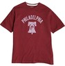 Wright & Ditson Philadelphia Phillies Burgundy T-Shirt
