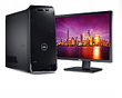 XPS 8500 Desktop w/ Intel Core i7 3770 + 24 U2412M Monitor
