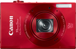 Canon PowerShot ELPH 520 HS Red Digital Camera