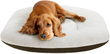 Soft Touch Oval Pet Cushion Bed Brown