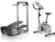 Bowflex TC5 TreadClimber w/ Free Schwinn A10 Upright Bike