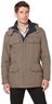 Men's Microfiber Parka with Removable Hood