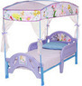 Disney Tinkerbell Fairies Toddler Bed with Canopy
