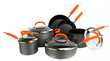 Rachael Ray 10-Pc. Hard Anodized Cookware Set