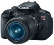Canon EOS Rebel T4i 18MP DSLR Camera w/ 18-55mm Lens