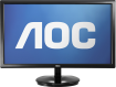 AOC e2243F 21.5 LED Ultrathin 50M:1 1080p Monitor