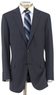 Men's Stays Cool 2-Button Suit with Pleated Front Trousers