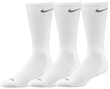 2x Nike 3 Pack of Dri-Fit 1/2 Cushion Crew Socks