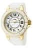 A Line Marina White Dial Gold Tone Ladies Watch