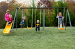 Playzone 7 Station Swing Set