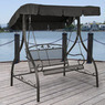 Jefferson Wrought Iron Outdoor Swing