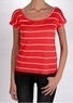 Ecko Red Heathered Stripe Slouchy T-Shirt