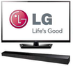 LG 55LM4700 55 1080p 3D LED HDTV w/ Soundbar + 4 3D Glasses