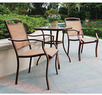 Mainstays Sand Dune 3-Piece Outdoor Bistro Set
