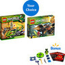 LEGO Ninjago Play Set and Bonus Ninjago Spitta Play Set