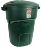 RubbermaidRoughneck 32-gal. Green Trash Can