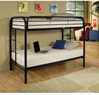 Acme Eclipse Twin Over Twin Metal Bunk Bed