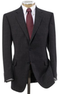 Men's Executive 2-Button Fleece Rich Wool Sportcoat