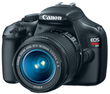 EOS Rebel T3 12-Megapixel SLR Camera w/ 2 Lenses (Refurb)