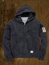 Denim & Supply Men's Flag-Patch Full-Zip Hoodie