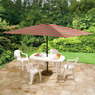 6 1/2 Ft x 10 Ft Rectangular Umbrella