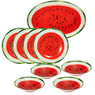 Glass Watermelon 9 Piece Set