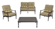 Martha Stewart Living Pembroke 4-Piece Patio Seating Set