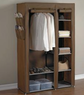 7-Shelf Fabric Storage Wardrobe
