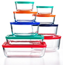 Pyrex Food Storage Containers, 18 Piece Set