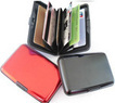 RFID-Blocking Aluminum Credit Card Wallet