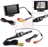 Vehicle Rear View LED Back Up License Plate Camera System