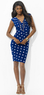 Women's Polka-Dot Matte Jersey Dress