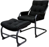 Essential Home Ethan Casual Chair with Ottoman