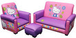 Hello Kitty Toddler Sofa, Chair and Ottoman