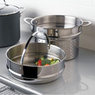 Stainless Steel Pasta Pot Insert & Steam Insert