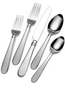 Everyday Satin Ariel 45 Piece Flatware Set