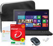Toshiba Satellite 15.6 Laptop Bundle w/ Intel Pentium CPU