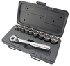 Craftsman 10 Piece, 6 pt. 3/8 in. Standard Socket Wrench Set