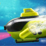 Yellow Radio RC Remote Control Sub Submarine Boat Explorer
