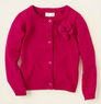 Baby Girls' Corsage Cardigan Sweater