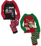 Faded Glory Baby Boys' Christmas Pajamas (2 Sets)