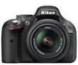 Nikon D5200 24.1 MP Digital SLR Camera (Body with Lens Kit)