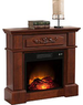Carlson Cherry Electric Fireplace